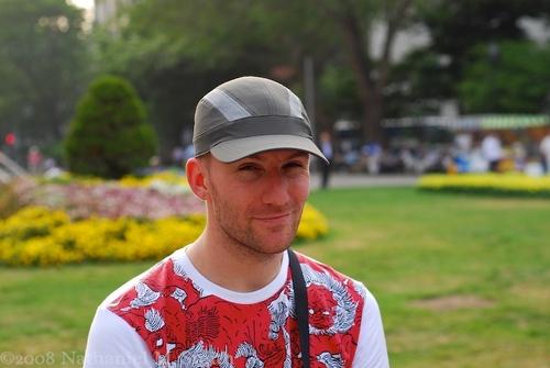 portrait at the park