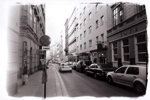 a Vienna street shot