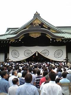 八月十五日終戦記念日@靖国神社